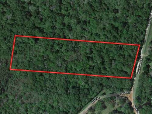 Perfect 5.61 Acres In Shepherd, Tx : Shepherd : San Jacinto County : Texas