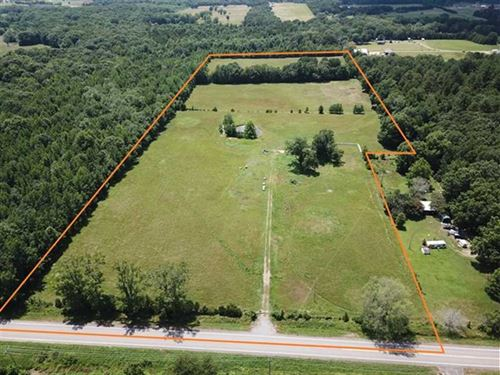 23 Acres Pasture Ground on Hig : Bigelow : Perry County : Arkansas
