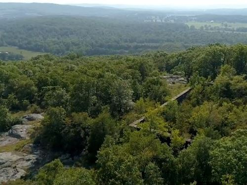 110 Mostly Wooded Acres Electric : Ironton : Iron County : Missouri