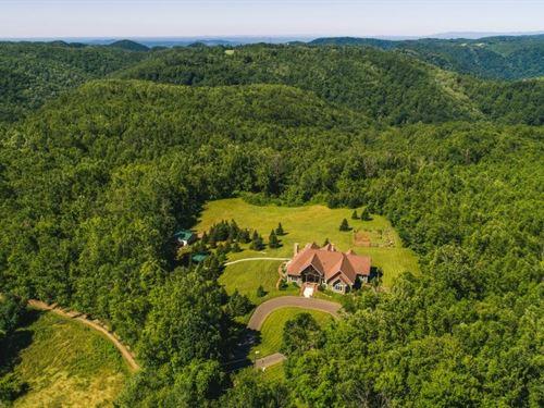 Mountain Estate Blue Ridge : Meadows Of Dan : Patrick County : Virginia
