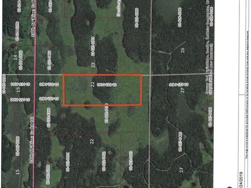 Mille Lacs County Hunting Land : Onamia : Mille Lacs County : Minnesota