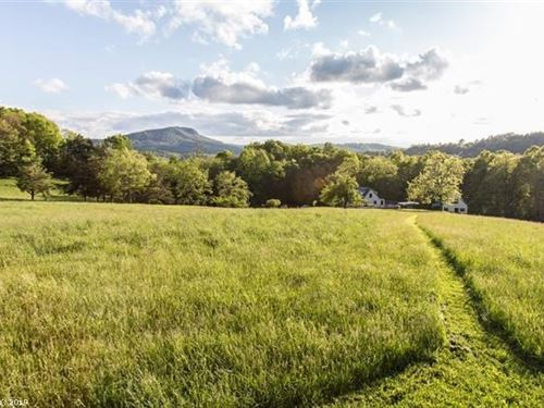 Secluded Blue Ridge Mountain : Willis : Floyd County : Virginia