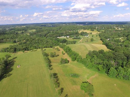 Spacious And Secluded 70 Acre Farm : Byesville : Guernsey County : Ohio