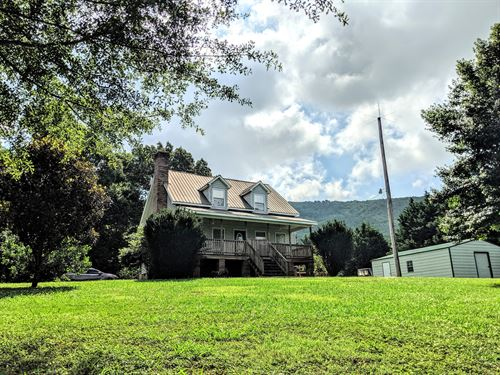 Beautiful Farm With Stream And View : Summerville : Chattooga County : Georgia