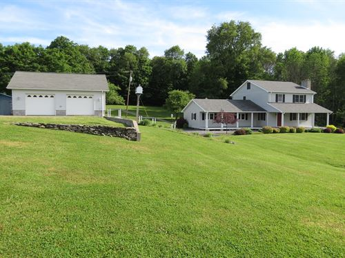 Country Home 30+ Acres Auction : Wellsboro : Tioga County : Pennsylvania