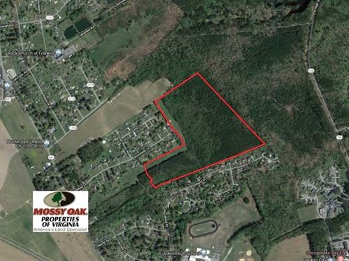 62 Acres of Residential Developmen : Franklin : Virginia