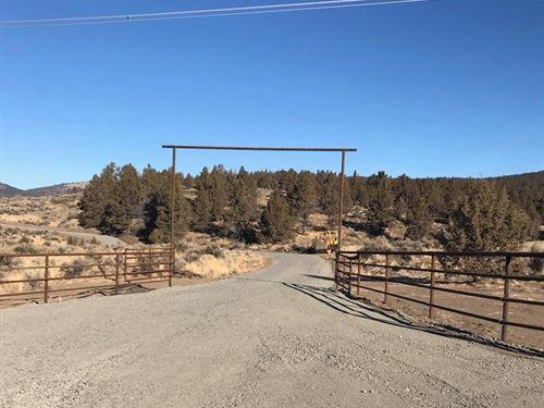 Fantastic View On 40+ Acres : Merrill : Klamath County : Oregon