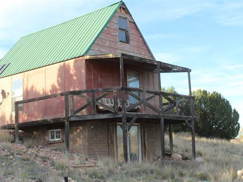 Cabin Acreage County Road Seligman : Seligman : Yavapai County : Arizona