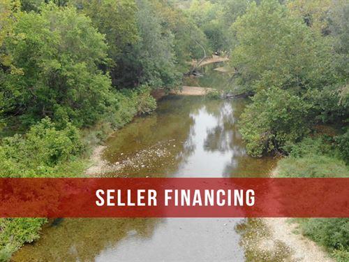 $2500 On 46 Acres On River : Fordland : Webster County : Missouri