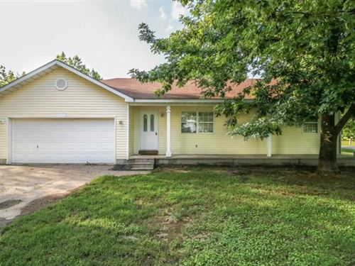 Home on 20 Acres For Sale in Popla : Poplar Bluff : Butler County : Missouri