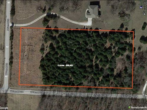 5-Acre Build Site Near Willard, MI : Willard : Greene County : Missouri