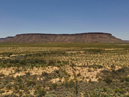 East Rim Ranch Lot 10-3 : Alpine : Brewster County : Texas