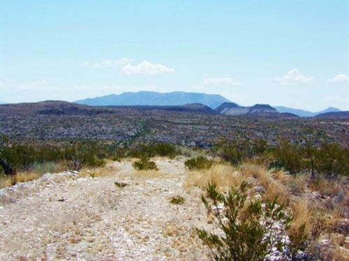 Beautiful Terlingua Tract : Terlingua : Brewster County : Texas