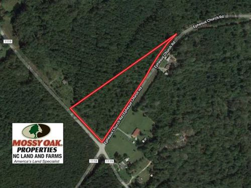5.5 Acres of Land For Sale in Blou : Blounts Creek : Beaufort County : North Carolina