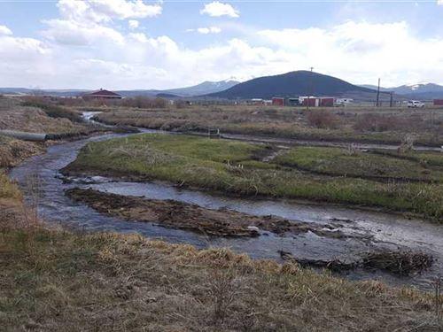 Live Water, Fourmile Creek, Huge : Fairplay : Park County : Colorado