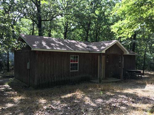 Cute Cabin, 1 Bedroom 1 Full Bath : Smithville : Sharp County : Arkansas