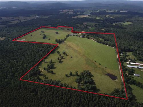 Beautiful 140 Acre Cattle Farm : Sims : Montgomery County : Arkansas