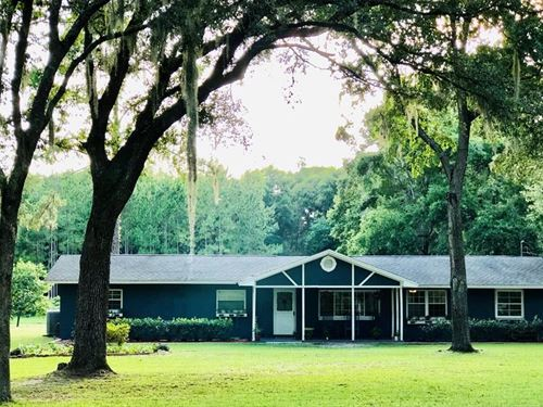 Country Home Acreage Chiefland : Chiefland : Levy County : Florida