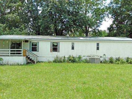 3Br/2Ba Double Wide Pecan Acres : Lake City : Columbia County : Florida
