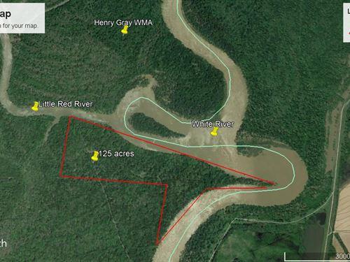 Graham Point On The White River : Georgetown : White County : Arkansas