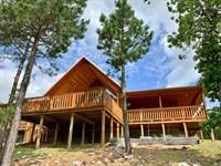 Home On Sardis Lake For Sale : Tuskahoma : Latimer County : Oklahoma