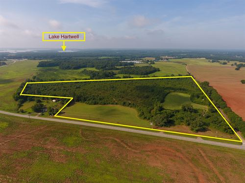 Townville Farm And Homesite : Townville : Anderson County : South Carolina