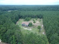 14 Acre Homesite Bordering National : New Waverly : San Jacinto County : Texas