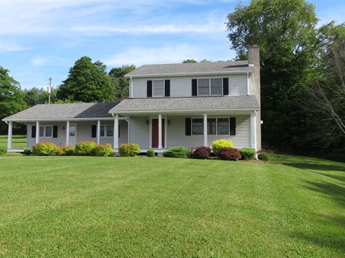 Country Home & Hunting Land Auctio : Wellsboro : Tioga County : Pennsylvania