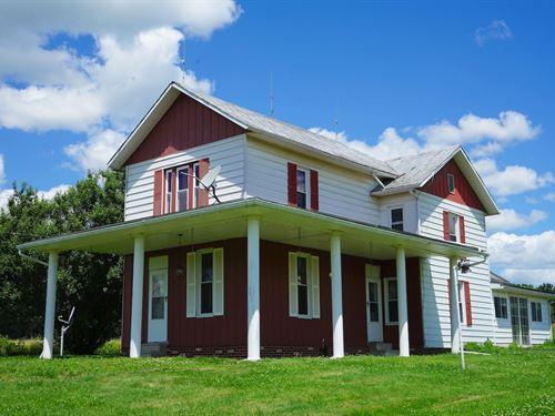 Mollies Rock Rd, 45 Acres : Dresden : Muskingum County : Ohio