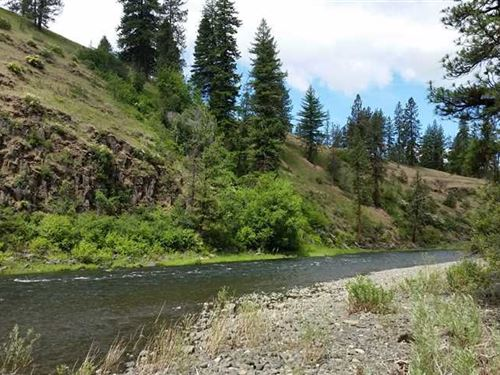 120 Acres Land on North Fork John : Ritter : Grant County : Oregon