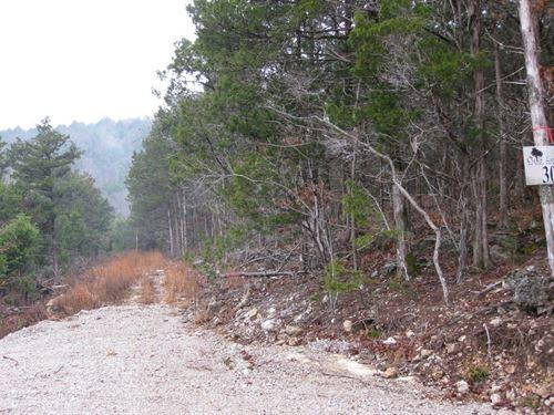 Lakefront Land For Sale in Arkansas : Eureka Springs : Carroll County : Arkansas
