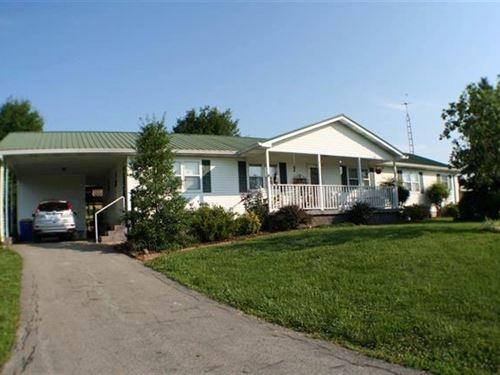3 Bedroom 2 Bath Home & 21 Acres : Roundhill : Edmonson County : Kentucky