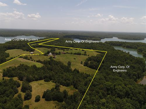 Lake Russell Farm And Homesite : Iva : Abbeville County : South Carolina