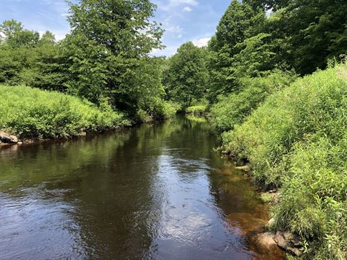 Camp Or Home Site On Little River : Vienna : Oneida County : New York