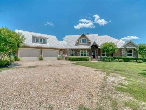 10 Acres With Country Home : North Zulch : Grimes County : Texas