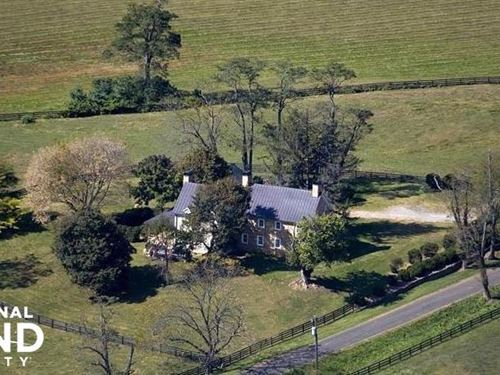Historic Home With Acreage Near War : Paris : Fauquier County : Virginia