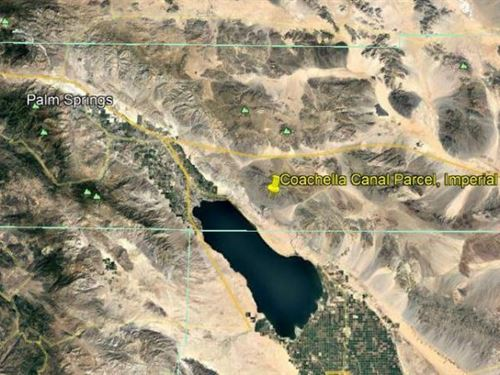 Cochella Canal And Vacant Investmen : Riverside : California
