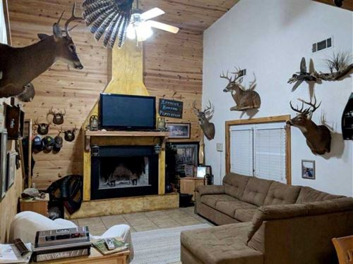 Cabin, Woods, Water, Plenty of Wil : Roberta : Crawford County : Georgia