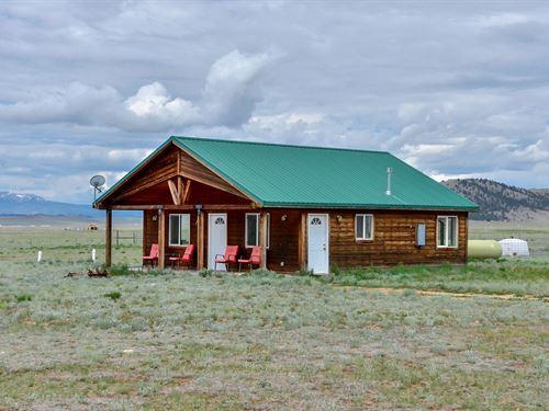 Off Grid Home 80 Acres Lake George : Lake George : Park County : Colorado