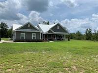 Beautiful Newer Country Home 5 : Crawfordville : Wakulla County : Florida