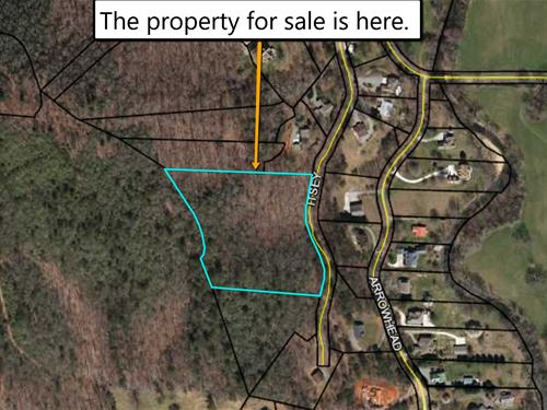 Land Worth $46K For Only $23K : Hiawassee : Towns County : Georgia