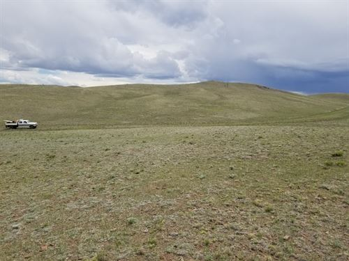6 Acres Rolling Hills Near Hartsel : Hartsel : Park County : Colorado
