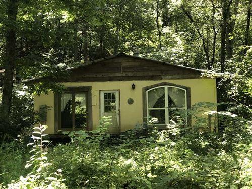 Secluded Creek Front Property : Clinton : Van Buren County : Arkansas