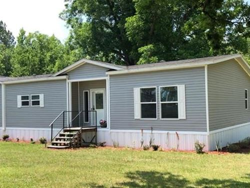 Beautiful Home On 22 Acres : Eastman : Pulaski County : Georgia