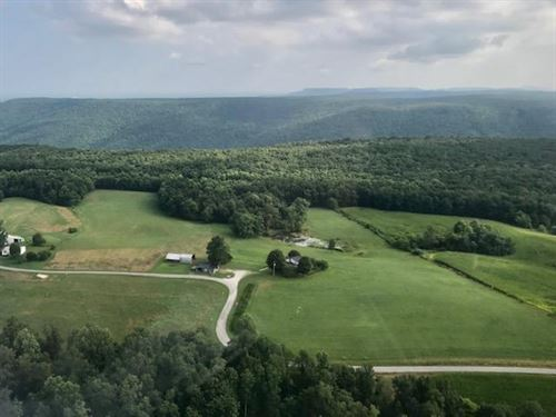 99.37+/- Acres Farm With 2 Homes : Altamont : Grundy County : Tennessee