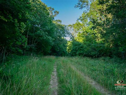 Distinguished 84 Acres Prime Hunti : Independence : Montgomery County : Kansas