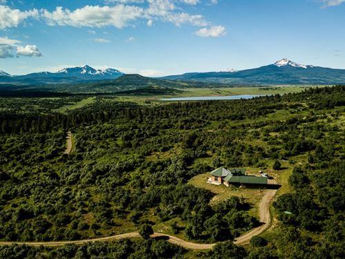 Custom Home 36 Acres Excellent : Norwood : San Miguel County : Colorado