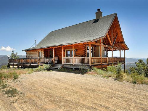 5301941 Custom Built Log Home : Salida : Chaffee County : Colorado
