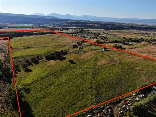 CO Ranch Land, Irrigated Pastures : Cedaredge : Delta County : Colorado