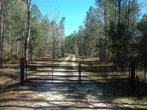 852 Acres Gordon, Alabama-Houston : Gordon : Houston County : Alabama